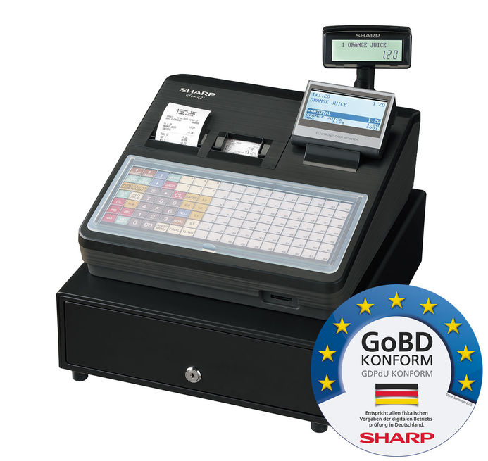 Sharp Registrierkasse ER-A421